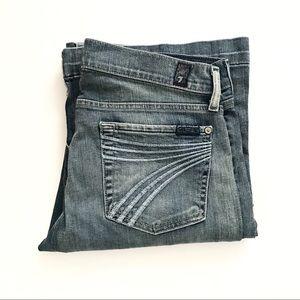 ** 7 For all Mankind ** DOJO light wash jeans